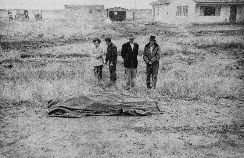 Роберт Франк. Дорожная авария, Аризона, 1956.