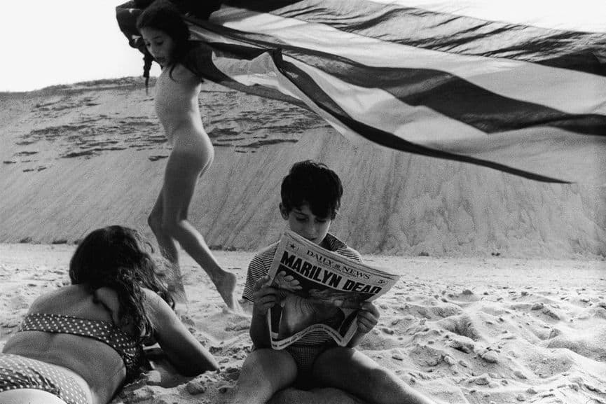 Robert Frank.  Wellfleet, Massachusetts, 1962.