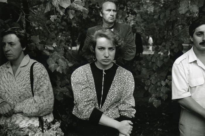 "Krass Clement. Фотография из книги ""Hvor Ingen Talte"". Москва, 24 августа 1991."