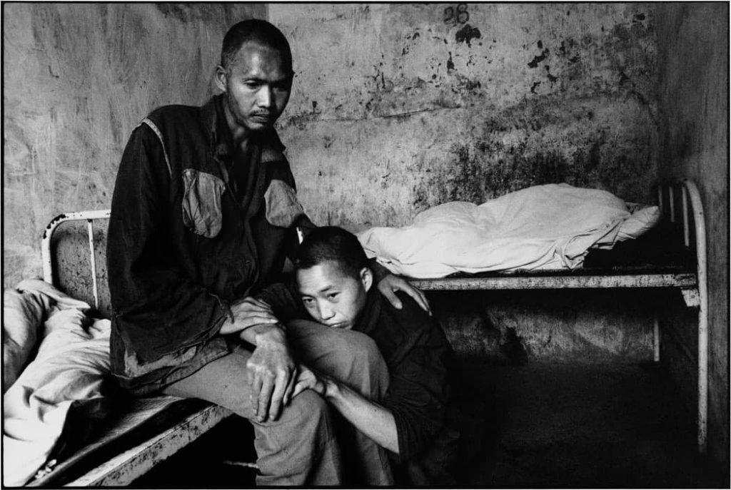 Лю Нань. Из проекта «Забытые люди: состояние психиатрических больниц Китая». Гуйчжоу, Китай, 1989 г.